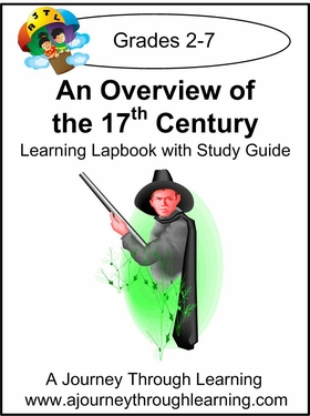 An Overview of the 17th Century Lapbook with Study Guide --8.00