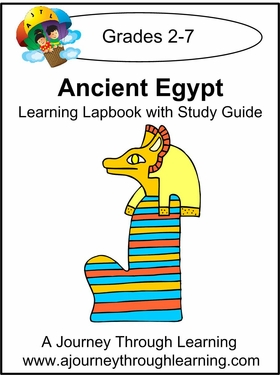 Ancient Egypt Lapbook with Study Guide--8.00