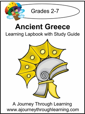 Ancient Greece Lapbook with Study Guide --4.50