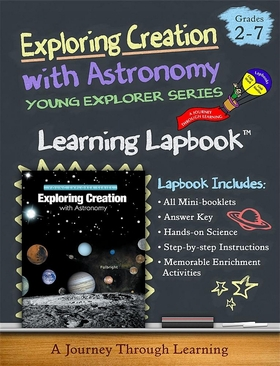 1st Edition Apologia Exploring Creation with Astronomy Lapbook