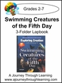 Apologia Swimming Creatures of the Fifth Day 3-Folder Lapbook