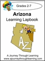 Arizona State Study Lapbook--8.00