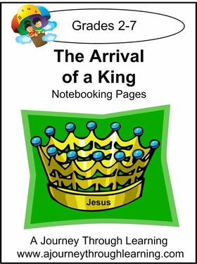Arrival of a King Notebooking Pages-2.50
