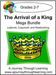Arrival of a King Lapbook, Copywork, and Notebooking Bundle-14.00