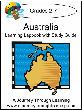 Australia Lapbook with Study Guide--8.00