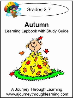 Autumn  Lapbook with Study Guide-8.00