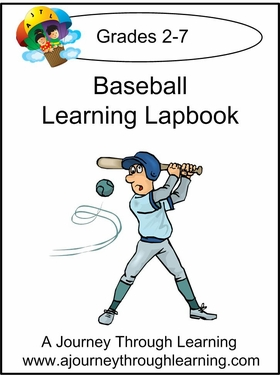 Baseball Express (Quick) Lapbook