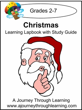 Christmas Lapbook with Study Guide--8.00