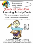 Classical Conversations Cycle 2 JUNIOR Learning Activity Book (PRINT Font)