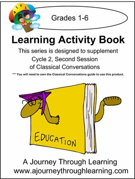 Classical Conversations Cycle 2 Learning Activity Book -Second Session Instant Download