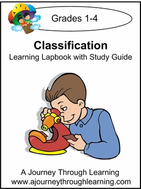Classification Grades 1-4 Lapbook with Study Guide--8.00
