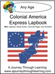 Colonial America Express (Quick) Lapbook 1.00