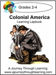 Colonial America Lapbook with Study Guide-8.00