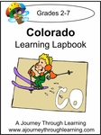 Colorado State Study Lapbook--4.50