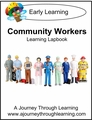 Community Workers Early Learning Lapbook--8.00