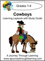 Cowboys Grades 1-4 Lapbook with Study Guide -8.00