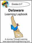 Delaware State Study Lapbook--4.50