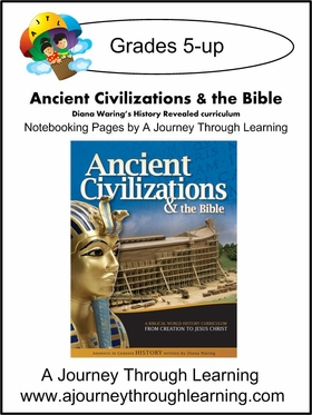 Diana Waring History Revealed-Ancient Civilizations & the Bible Notebooking Pages