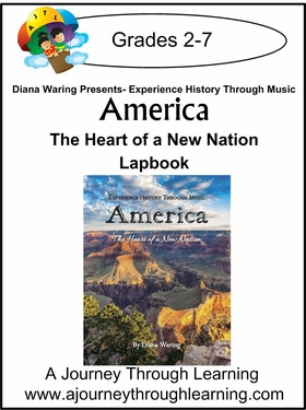 Diana Waring Presents-America The Heart of the New Nation Lapbook