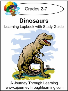Dinosaurs Lapbook with Study Guide-8.00
