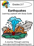 Earthquakes Lapbook with Study Guide