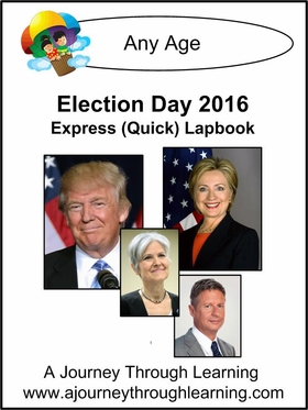 Election Day 2016 Express Lapbook with Study Guides