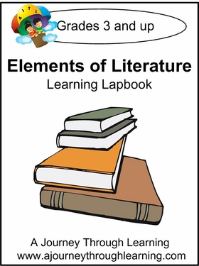 Elements of Literature Lapbook (no study guide)-8.00
