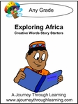 Exploring Africa Words Creative Story Starters -8.00