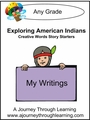 Exploring American Indians Creative Words Story Starters 8.00