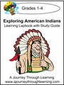 Exploring American Indians with Study Guide Lapbook-8.00