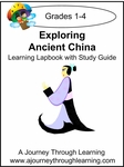 Exploring Ancient China Grades 1-4 Lapbook--8.00