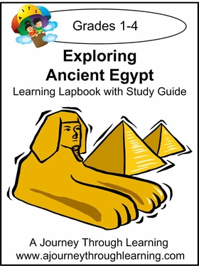 Exploring Ancient Egypt Grades 1-4 Lapbook with Study Guide-8.00