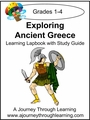 Exploring Ancient Greece Grades 1-4 Lapbook with Study Guide-8.00
