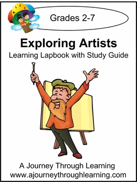 Exploring Artists Lapbook with Study Guide