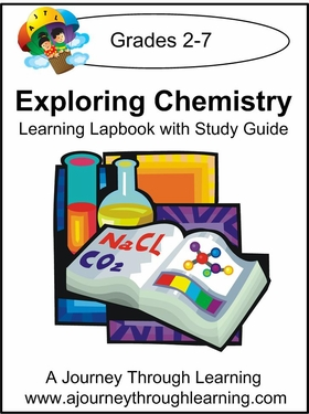Exploring Chemistry Lapbook with Study Guide-8.00