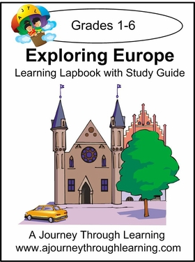 Exploring Europe Lapbook with Study Guide--8.00