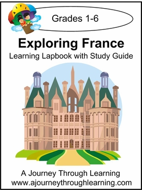 Exploring France Lapbook with Study Guide-8.00
