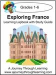 Exploring France Lapbook with Study Guide--4.50