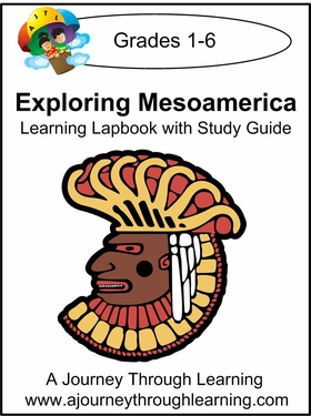 Exploring Mesoamerica Lapbook for Foundations--8.00