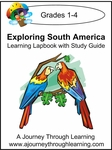 Exploring South America Grades 1-4 Lapbook--8.00