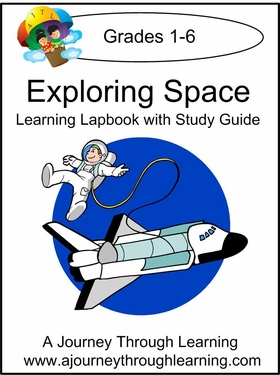 Exploring Space Lapbook With Study Guide--8.00