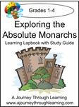 Exploring the Absolute Monarchs Lapbook with Study Guide--8.00