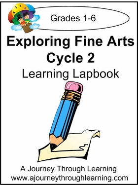 Fine Arts Cycle 2 Lapbook for Foundations--4.50