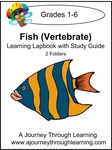 Fish (Vertebrates) Lapbook for Foundations--4.50