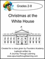 Founders Academy Christmas at the White House Lapbook