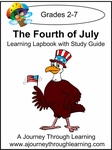 Fourth of July Lapbook with Study Guide -<s>8.00</s> Limited time Half off- 4.00!