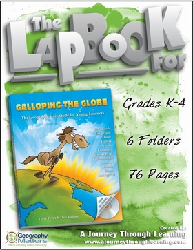 Geomatters Galloping the Globe Lapbook
