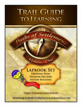 Geomatters Trail Guide to Learning-Paths of Settlement Volume 1 Lapbook