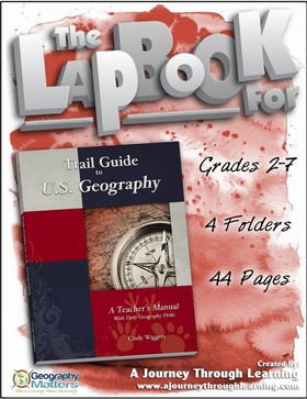 Geomatters Trail Guide to U.S. Geography Lapbook