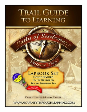 GeomattersTrail Guide to Learning-Paths of Settlement Volume 2 Lapbook